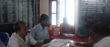 Consultation Meeting in Horanadu, Mudigere Taluk, Chickmagalur District
