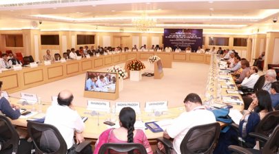 Meeting with Secretaries Higher and Technical Education of States and UTs